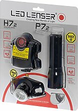 LED Lenser H7,2 Blister plus P7,2 Blister Bundle Taschenlampe 1031
