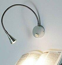 LED Leselampe LORIS Schwanenhals Lampe Bettleuchte
