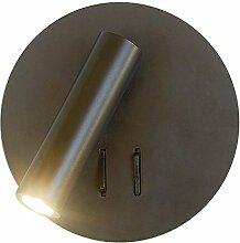 LED Leseleuchte Wandleuchte Bettleuchte mit Dimmer