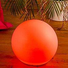 LED-Leuchte KUGEL multi-color Ø 30cm, mit Fernbedienung, 220V, Aussenleuchte Kugelleuchte Gartenlampe LILIMO ®