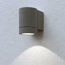 LED Leuchte Wandleuchte EVELINA1 3W - 330lm IP54 Warmweiss 4000K Aussenleuchte Außenlampe Wandlampe Gartenleuchte Flurleuchte