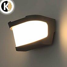 LED Leuchte Wandleuchte HAZEL E27 FASSUNG IP54 Aussenleuchte Außenlampe Wandlampe Gartenleuchte Flurleuchte 230V