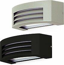 LED Leuchte Wandleuchte IRA E27 FASSUNG IP54 GRAPHIT!!! Aussenleuchte Außenlampe Wandlampe Gartenleuchte Flurleuchte 230V