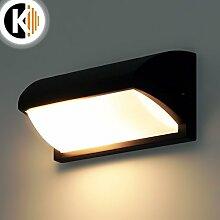 LED Leuchte Wandleuchte IRIS E27 FASSUNG IP54 Aussenleuchte Außenlampe Wandlampe Gartenleuchte Flurleuchte 230V