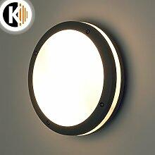 LED Leuchte Wandleuchte IVY 2x E27 FASSUNG IP54 Aussenleuchte Außenlampe Wandlampe Gartenleuchte Flurleuchte 230V