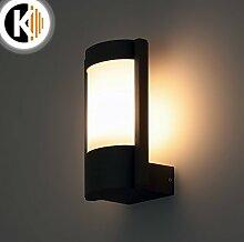 LED Leuchte Wandleuchte LEILA-1 E27 FASSUNG IP54 Aussenleuchte Außenlampe Wandlampe Gartenleuchte Flurleuchte 230V