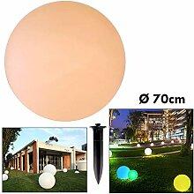 LED Leuchtkugel E27 RGB Kugel Deko Garten Pool