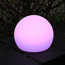 LED Leuchtkugel Stimmungslampe - LED Kugel Lampe Stimmungslicht mit Farbwechsel und Fernbedienung 10 cm von PK Green