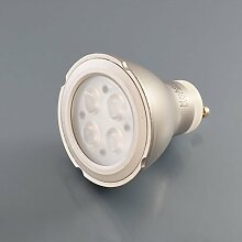LED Leuchtmittel Strahler GU10 Lampe Ersatzlampe Spot 5 Watt neutralweiß Grau