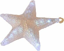 LED Leuchtstern, Weihnachtsstern Fenster 30 cm