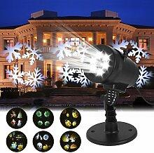 LED Lichteffekt, GreensKon Weihnachten Projektor
