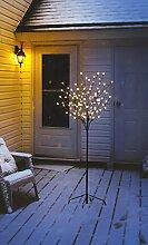 LED Lichterbaum mit 108 warm-weißen Lichtern