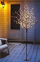 LED Lichterbaum mit 200 warm-weißen Lichtern