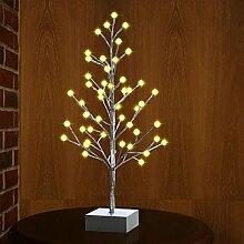 LED Lichterbaum mit 48er LEDs beleuchtet, MaLivent