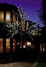LED Lichterbaum mit 500 LEDs beleuchtet, 220 cm