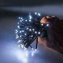 LED Lichterkette 1-2 Glow Girlande Lichtergirlande Weihnachtsdeko Innen Außen (Kaltweiß, 150cm Baum - 126 LED)