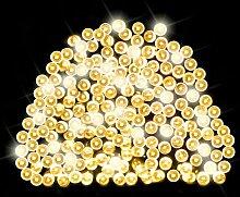LED-Lichterkette 200-flammig Solar Fairy OE Lights
