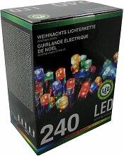 Led Lichterkette 240 Lämpchen bunt für innen und