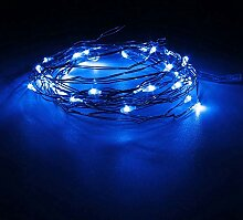 LED-Lichterkette, 300 cm, blau, mehrfarbiger