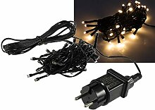 LED Lichterkette 4 Meter mit 40 LEDs I Schwarzes
