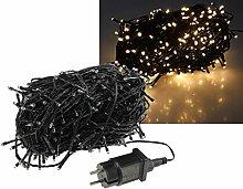 LED Lichterkette 40 Meter mit 400 LEDs I Schwarzes