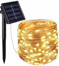 LED Lichterkette 5/10/20/30/40 / 50M Solar String
