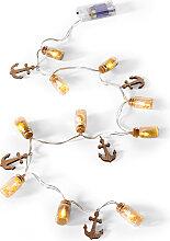 LED-Lichterkette Anker, braun