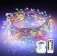 LED Lichterkette Batterie, ECOWHO 3M 200 LED