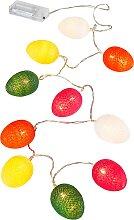 LED-Lichterkette Eier, rot