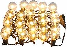 LED Lichterkette glühbirnen G40 25FT Deko