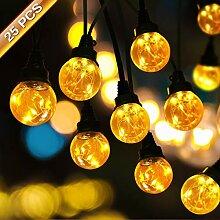 LED lichterkette glühbirnen, SOLMORE 25 LED