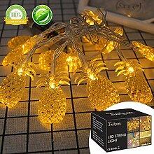 LED Lichterkette LED String licht Aussen Ananas