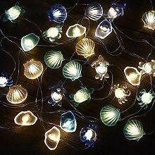 Led Lichterkette mit Batterie Maritime Deko