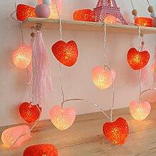 LED-Lichterkette Muzhili3 £¬ 1,5/3/6 m Liebe