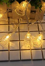 LED Lichterkette Solar LED Lichterkette Glocke