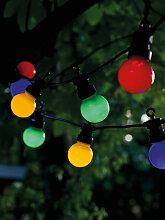 LED-Lichterkette Starter Set Lucas Sirius schwarz