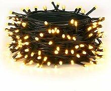 LED Lichterkette, Warmweiß Außen Deko String