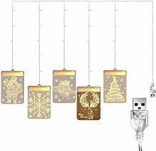 LED Lichterkette Weihnachten