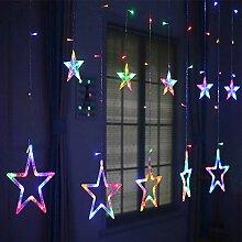 LED Lichtervorhang Lichter, LED Lichterkette,