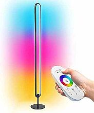 LED Lichtsäule Stehlampe, Modern Lampe Wand RGB