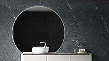 LED Lichtspiegel Badspiegel rund BOVA mit