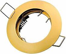 LED Line® Einbaustrahler GU10 Einbaurahmen Ø65mm
