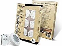 LED LOVERS 10er Set LED Einbaustrahler dimmbar mit