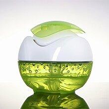LED Luftbefeuchter Aroma Diffuser Humidifier Aromatherapie USB für Auto Haus Büro Schlafzimmer Molie (Grün)