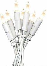 LED Mini-Lichterkette 20'er warmweiss P-LED