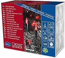 LED Mini-Lichterkette 40er rot / grün aussen Konstsmide 6004-550
