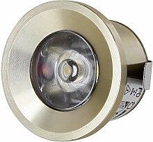 LED Mini Spot Aluminium Einbaustrahler 230V -