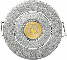 LED Mini Spots mit Cree-XPE 3 W Einbauleuchte Rund