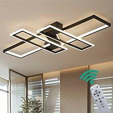 LED Modern Deckenleuchte Wohnzimmerlampe, Dimmbar