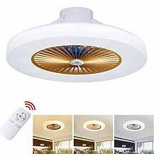 LED Modern Deckenventilator Licht Dimmbar Fan